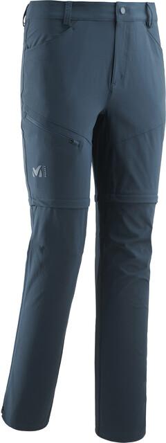 Millet Trekker Pantalon convertible avec zip Homme, orion blue